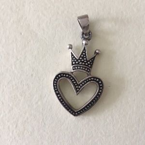 Jewelry - Sterling silver heart charm 925